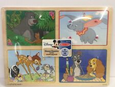 Disney Classics My First Wooden Peg Puzzle Melissa and Doug Dumbo Bambi
