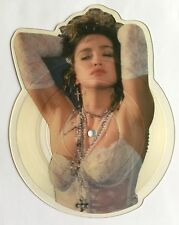 MADONNA -Crazy For You- Ultra Rare 1st Shaped Picture Disc /Geffen WA6323 Vinyl