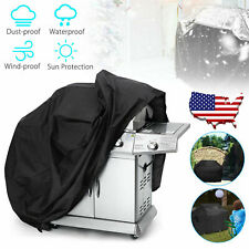 57'' BBQ Gas Grill Cover Barbecue Waterproof Outdoor Heavy Duty Protection + Bag