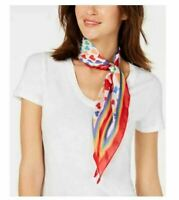 INC International Concepts hearts rainbow pride diamond-shaped women's scarf