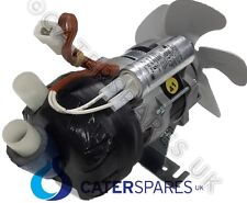 BREMA WATER PUMP MOTOR FOR ICE MACHINE AND COOLING FAN BLADE 230 VOLT