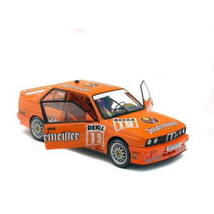 Solido 1/18 BMW E30 DTM Jagermeister No.19 Hahne