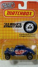 vintage Matchbox 1982 33 Willys street rod MB 69 MIB 1/64 scale