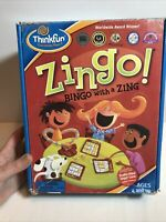 ThinkFun Zingo! 'Bingo with a Zing' Game -100% Complete With Manual