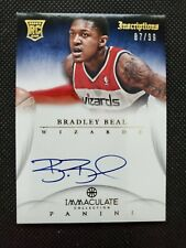 2012-13 BRADLEY BEAL IMMACULATE ROOKIE RC SP AUTO INSCRIPTIONS #87/99! AUTOGRAPH