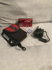 Nikon Coolpix S6100 16.0MP Red Digital Camera w/Battery & 8gb SD Card