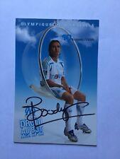 Autogramm BOUDEWIJN ZENDEN-Olympique Marseille-NS HOLLAND-Ex-Liverpool/PSV-AK