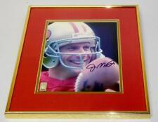 """Joe Montana San Francisco 49ers Autographed 8"""" x 10"""" Photograph Framed"""