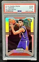 2019 Prizm SILVER REFRACTOR RC Suns TY JEROME Rookie Basketball Card PSA 9 MINT