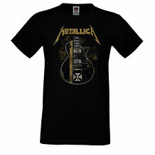 HERREN/MEN T-SHIRT TEE,METALLICA 7, METAL, BLACK, LONGSLEEVE/SHORTSLEEVE