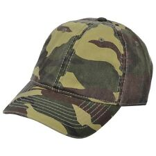 Army Cap Carbon212 Curved Visor Baseball Caps - Green Camouflage