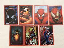 7 FIGURINE ADESIVE SPIDER-SENSE SPIDER-MAN  PANINI MARVEL lot 60