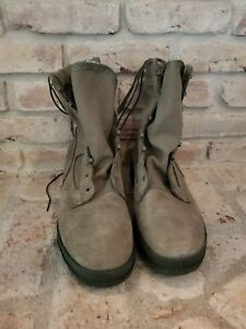Men's Wellco Air Force TW Military Combat Boots Size 9 1/2 R.