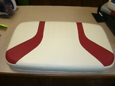 Boat Seat for Yamaha G3 Boats 23x14 RED & White  FREE SHIPPING
