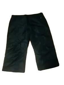 Arctic Quest (AQ) Men's Black Snow Pants Lined Winter Performance Sz XL