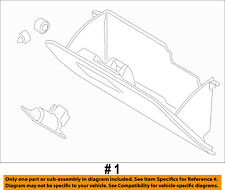 FORD OEM-Glove Compartment Box Assy F87Z1006024AAE