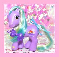 ❤️My Little Pony G3 2004 Lickety Lickity Split Sparkleworks Pose Ice Cream❤️