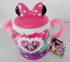 Disney Junior Minnie Terrific Teapot Set New Free Shipping