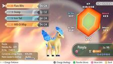 Pokemon Let's Go Shiny Ponyta Max 6IV / AV [Fast Delivery] Original Owner