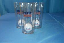 Golf Sport 16oz Drinking Glasses Set Of 3
