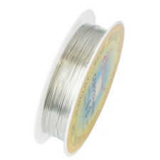 Hot Sale Plated Gold Silver Cord Jewelry Rope String Thread Iron Wire 0.25-0.6mm