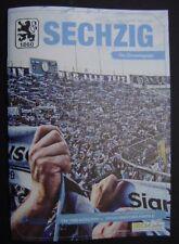 TSV 1860 München - SpVgg Greuther Fürth 15.09.2017 Programm Regionalliga Bayern