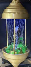 "Vintage Grist Mill Hanging Mineral Oil Rain Lamp 36"", Refurbish"