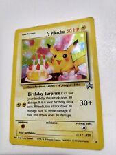 Happy Birthday Pikachu Black Star Promo #24 Holo Pokemon Card 2000 WOTC HP!