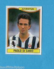 PANINI CALCIATORI 1990/91-Figurina n.166- DI CANIO - JUVENTUS -Rec