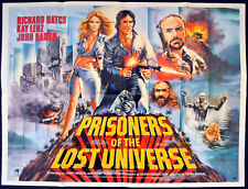 PRISONERS OF THE LOST UNIVERSE 1983 Richard Hatch Kay Lenz John Saxon UK QUAD