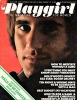 Playgirl Magazine December 1975 Jeramiah Shastid Male Go Go Dancer