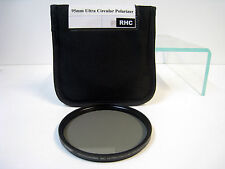 Tiffen 95mm Non-Rotating Ultra Circular Polarizer Round Filter W95CUCP