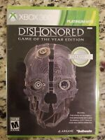 Dishonored - Game of the Year Edition - Xbox 360 Bethesda Platinum Hits FREESHIP