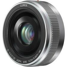 Panasonic H-H014AE-S LUMIX Pancake 14 mm Festbrennweite - sehr lichtstark F2,5