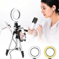 "5.7""14cm LED Ring Licht Dimmbare Beleuchtung Ring Light mit Standfuß für Youtube"