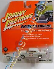 1955 '55 CHRYSLER C-300 AMERICAN CHROME DIECAST JOHNNY LIGHTNING JL!!!