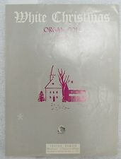 """SHEET MUSIC """" WHITE CHRISTMAS ORGAN SOLO """" DATED 1942"""