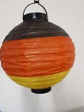 Papier LED-Laterne 20cm Deutschland Germany Fußball Deko EM WM 129165113