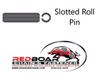 """1/8"""" x 3/4"""" Slotted Spring Roll Pins HCS PL QTY 100"""