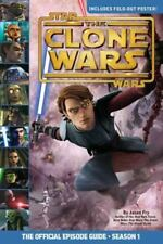 Star Wars the Clone Wars official episode guide season 1 W/ POSTER by Jason Fry