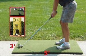 """3'x5'  Duffer™ Commercial Golf Mat 1.25"""" thick made 4 golf - no cheap white foam"""