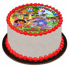 EDIBLE CAKE TOPPER Image Icing Sheet - Dora The Explorer
