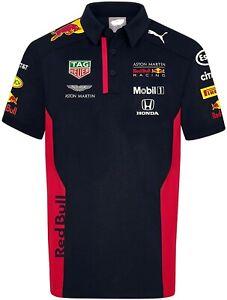 RedBull Aston Martin Team Polo Shirt 3D All Over Print All Size