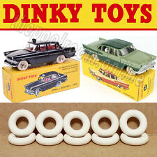 DINKY TOYS - 15MM - OFF WHITE - X 20 TYRES