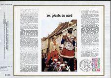 DOCUMENT CEF PREMIER JOUR  1980  TIMBRE   N° 2076 LES GEANTS DU NORD