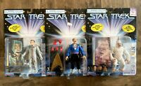 Star Trek Classic TOS Action Figures Lot 1997 Playmates Mudd Kirk Mugatu 90s