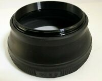 Lens Hood Shade Collapsible Rubber 52mm made in  Japan