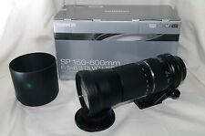 [EXC+++] TAMRON SP 150-600mm F5-6.3 Di VC USD for canon from Japan #KS85