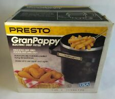 Vintage Presto GranPappy Electric Deep Fryer 05410 In Original Brand New NOS