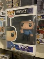 Funko Pop! Spock Star Trek *NEW *Vaulted *Protector 82